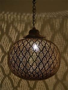 Antique Brass And Glass Pendant Light Moroccan Lanterns Moroccan Lamps Moroccan Garden Candle
