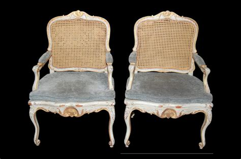 Pair Of French Regence` Armchairs For Sale