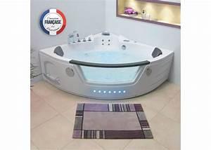 Baignoire Pour 2 : baignoire baln o d 39 angle 36 jets baignoire baln o d 39 angle ~ Edinachiropracticcenter.com Idées de Décoration