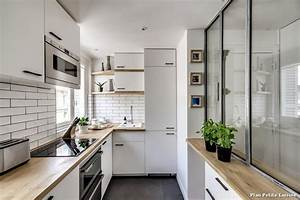 plan petite cuisine with contemporain chambre decoration With decoration des petites cuisines
