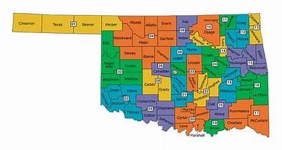 Election Oklahoma Map District Judicial Court