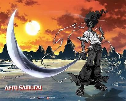 Samurai Afro Wallpapers