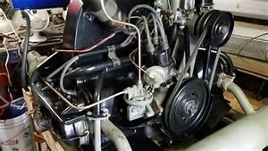 1957 Vw Beetle - Oil Pressure Sending Test
