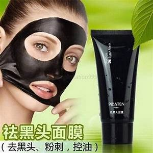 Blackhead Removal Black Mineral Mud Nose Face Mask Pore ...