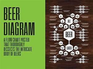 Beer Diagram Poster By Jason Haynes  U2014kickstarter