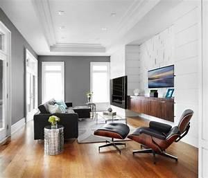 Wandfarbe Für Wohnzimmer : graue wandfarbe wohnzimmer wohnideen laminatboden wandfarbe grau pinterest ~ One.caynefoto.club Haus und Dekorationen