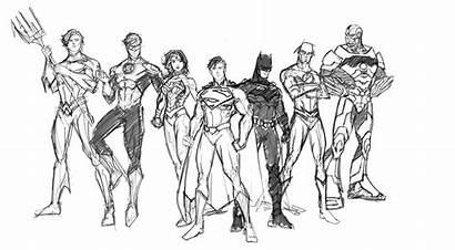 Justice League Coloring 52 Pages Super Seven