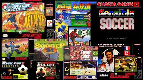 Juegos De Fútbol  Super Nintendo  Directazo! Youtube