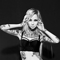 Sara Fabel, a Finnish model, illustrator, tattoo artist ...