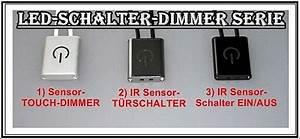 Dimmer Schalter Led : led sensor touch dimmer schalter t rschalter ein aus ir minischalter stripe mini ebay ~ Eleganceandgraceweddings.com Haus und Dekorationen