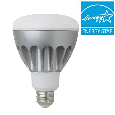 eti 60w equivalent soft white dimmable br30 led light bulb