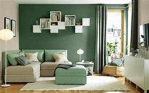 30, Gorgeous, Green, Living, Rooms, And, Tips, For, Accessorizing, Them
