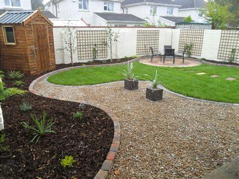 ideas simple design  stunning patio  cool gravel