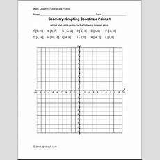 Worksheet Graphing Coordinate Points (upper Elem) Abcteach