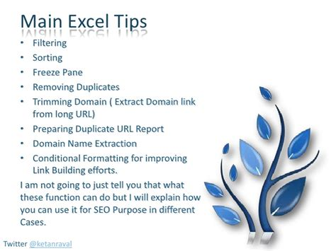 Explain Seo With Exle by Useful Excel Tips For Seo Website Auditing
