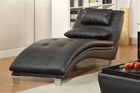Lounge Chaise Sofa by Black Leather Chaise Lounge A Sofa Furniture