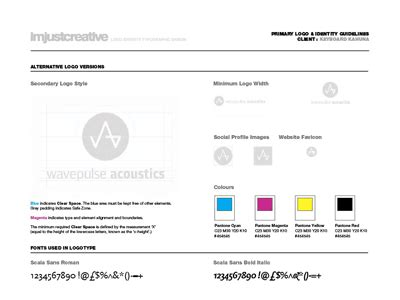 free brand guidelines template logo identity guideline template for free
