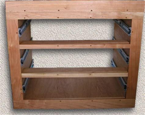 drawer units custom teak marine woodwork