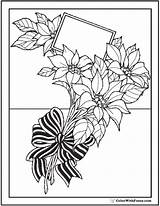 Coloring Flowers Bouquet Wild Flower Pages Bow Pdf Tulips Garlands Colorwithfuzzy sketch template