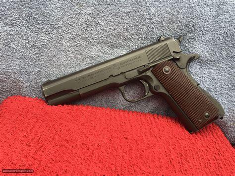 Original Rare Ww2 Colt 1911a1 Commercialmilitary For Sale