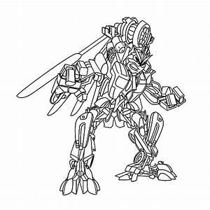 Transformer Robot Decepticons Coloring Page