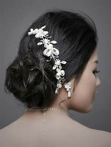 Buy Wholesale Wedding Bride Jewelry Crystal Pearl Headband