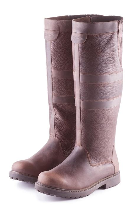 ladies haxby traditional leather boots rydale uk