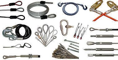 wire rope assemblies  rigging  architectural marine
