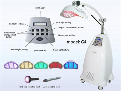 led light therapy machine portable pdt photon dynamic therapy skin care led light