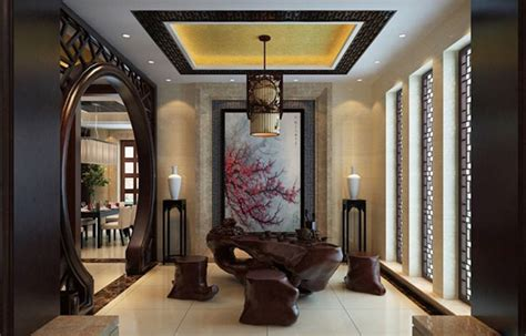 Chinese Culture And Traditional Decorating Interior