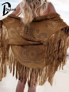 Verspielter Floraler Design Stil : daylook 2016 sommer stil mode design faux wildleder schal aush hlen floral ~ Watch28wear.com Haus und Dekorationen