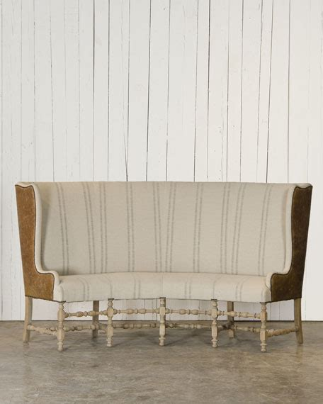 settee banquette ralph home banquette settee