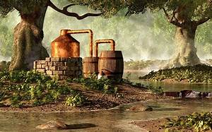 Moonshine Still 1 Digital Art by Daniel Eskridge