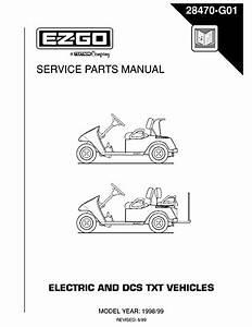 Ez Go Txt Parts Diagram