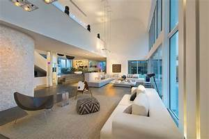 51 modern living room design from talented architects for Interior design school miami