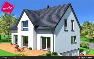 Prix maison alsace devis maison individuelle camille for Plan maison demi niveau 12 prix maison alsace devis maison individuelle camille