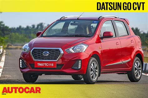 Review Datsun Go by 2019 Datsun Go Go Cvt Review Autocar India