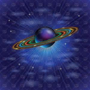 Saturn Planet Clip Art