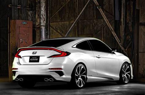 honda civic  coupe release date price interior specs