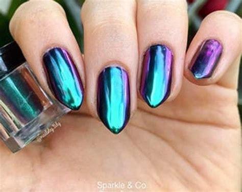 How To Get Chrome Mirror Nail Polish + 12 Unique Designs