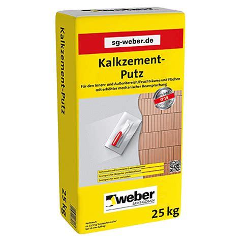Sg Weber Kalkzementputz Ip 18 (25 Kg) Bauhaus