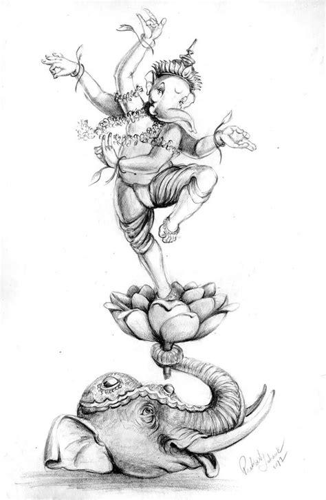Pin by Hrishi on Ganpati Bappa Morya... in 2019 | Ganesha painting, Ganesha art, Ganesha tattoo