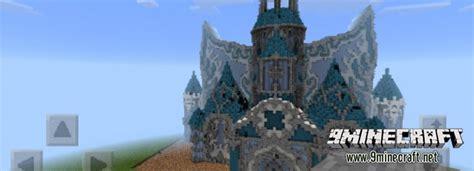 ice castle map  mcpe minecraftnet