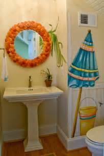 wall decal in beach bathroom theme home interiors