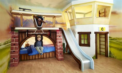 Baron's Bunk  Luxury Handmade Boys Bedroom And Furniture
