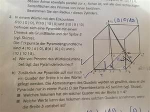 Untersumme Berechnen : w rfel w rfel enth lt eine pyramide und zus tzlich ein ~ Themetempest.com Abrechnung