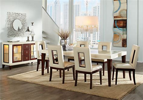 sofia vergara dining room furniture sofia vergara savona 5 pc dining room dining room sets