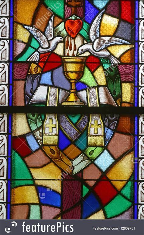 religious symbols holy orders  sacraments stock