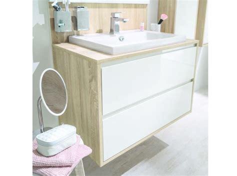 idee meuble salle de bain id 233 e d 233 coration salle de bain meuble sous vasque avec rangements pour salle de bains