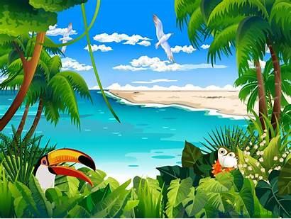 Tropical Animation Animated Desktop
